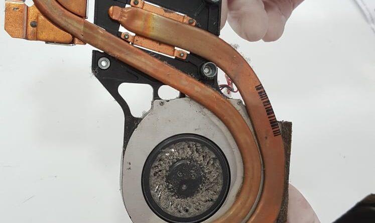 Laptop Fan temizliği